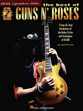 Best of GUNS N ROSES Signature Licks Book & CD TAB NEW
