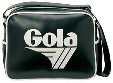 GOLA Bag Classic Redford Messenger Black White Logo Retro Sport Club Gym Travel
