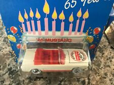"""1995 1:64 Hot Wheels """"Fisher-Price""""  '65 Mustang Convertible - #14903"""
