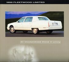 1998 1999 Cadillac Fleetwood Limited by Superior Coaches Dealer Sales Brochure
