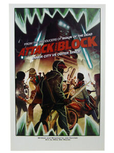 Attack The Block Limited Print 2019 NYCC Comic Con Exclusive Mike Del Mundo Art