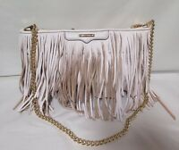 .Rebecca Minkoff baby pink shoulder bag with tassels