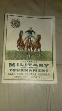 RARE 7TH ANNUAL MILITARY & ATHLETIC TOURNAMENT  OFFICIAL PROGRAM APRIL 27TH 1903