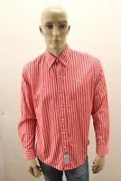 Camicia LA MARTINA Uomo Shirt Chemise Camisa Blusa Man Taglia Size M