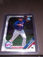 Royce Lewis Bowman Chrome 2019 Minnesota Twins Rookie Prospect