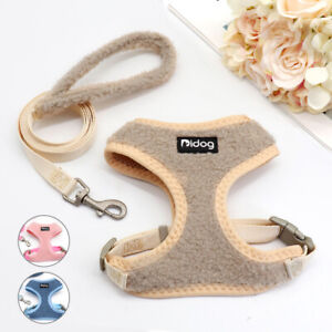 Soft Pet Dog Harness and Lead Set Safety Strap Vest Harness for Small Large Dogs
