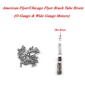 American Flyer/Chicago Flyer Brush Tube Rivets