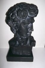 Vintage 1968 Pucci Austin Productions 12in. Bust of David Bust Sculpture