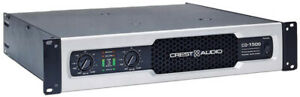 Crest Audio CD1500 Professional Power Amplifier 1500w Made in the USA