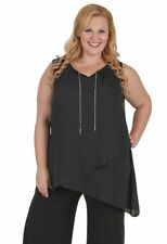 Chiffon Hand-wash Only Plus Size Sleeve Tops & Blouses for Women