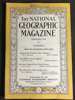 "National Geographic Magazine February 1928 Around the World in the ""Islander"""