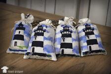 4 Lavendelsäckchen Duftsäckchen Lavendel Duft Leuchtturm maritim Meer