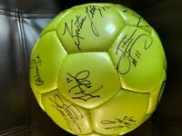 Autographed Soccer Ball from US Women's Team Legends