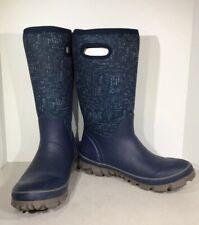 BOGS Whiteout Spark Women's Sz 10 Blue Multi Waterproof Winter Boots X2-541