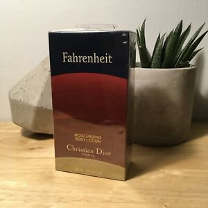 Fahrenheit by Christian Dior Body Lotion 200ml / 6.8 oz Sealed in Box, Vintage!