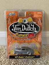 Jada Toys Von Dutch Garage 1947 Chevy Fleetline 1:64 Scale NIB