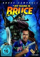 MY NAME IS BRUCE - Bruce Campbell, Grace Thorsen NEW SEALED UK REGION 2 DVD PAL
