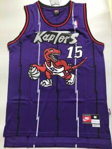 Toronto Raptors Vince Carter 15 Purple Throwback Swingman Basketball Jersey