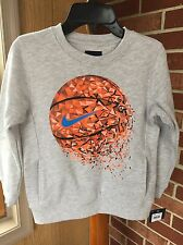 Kids Nike Basketball Sweatshirt With Pockets Sz 6