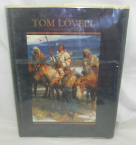 1st Ed. 1993 Art of Tom Lovell An Invitation To History 160 Bright Pages C8