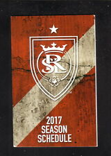 Real Salt Lake--2017 Pocket Schedule--LifeVantage--MLS