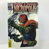 Judge Dredd & Buried Necropolis Death Invasion 9 Fleetway 1992
