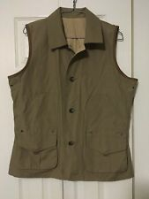 Lauren Ralph Lauren Women's Vest Large Reversible Button Up