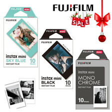 Fujifilm Instax Mini Monochrome / Black / Sky Blue Film 30 Photos - Mini 8 9 90