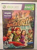 Kinect Adventures - Microsoft Xbox 360 Game 2010 No Manual Tested