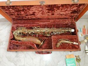 Sax vintage Buescher True-tone Alto no sassofono Selmer conn Yamaha mark 6 VI