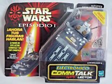 STAR WARS EPISODE 1 / ELECTRONIC  COMMTECH CHIP READER  1999 / SPANISH / SEALED