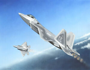 Trumpeter 1317 US Air Force F-22A Raptor 1/144 Scale Model Kit