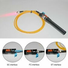 Visual Fault Locator Fiber Optic 650nm Laser Cable Test Tester Equipment
