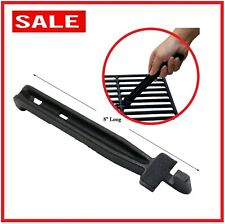 """8"""" Long Universal Cast Iron BBQ Grid Grate Lifter- Grill Parts Tools Accessories"""