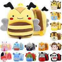 Toddler Kids Backpack Rucksack Plush Doll Cartoon Animal Bags School Bag Bookbag