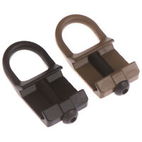 Tactical Quick Detach Sling Mount Plate attachment for 20mm Picatinny_Rail