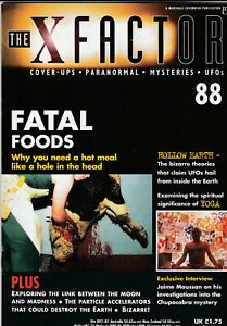 THE X FACTOR Paranormal Science Magazine Issue 88 - Fatal Foods