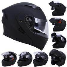 DOT Double Visor Motorcycle Flip Up Helmet Motorcycle Full Face Helmets UTV ATV