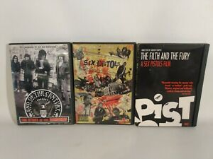 The Sex Pistols and The Ramones DVD Documentary Live Concert Movies Punk Rock