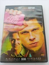 Fight Club Dvd Brad Pitt Edward Norton David Fincher