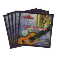 New 5 Sets of Guitalele Strings Nylon & Silver Plated Copper Alloy Wound Strings