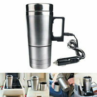 12V Wasserkocher Edelstahl Elektrisch Teekocher Heizung für Camping KFZ Auto DE