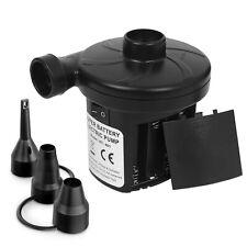 sanipoe Battery Powered Air Mattress Pump, Electric Quick-Fill Blower Portabl.