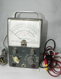 Vintage HEATHKIT Vacuum Tube Voltmeter Model V-7. Untested. No reserve.