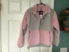 Women's THE NORTH FACE Pink & Gray POLARTEC Jacket Size Small (CON16)