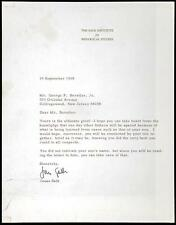 "Salk, Jonas - Letter From the Polio Pioneer to a Father: ""Yours is th... Lot 217"