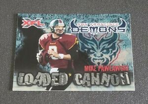 2001 Topps XFL Loaded Cannon #6 Mike Pawlawski