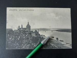 1915 Graudenz Westpreußen Masuren Grudziądz vom Schloßberg n. Knechtsteden