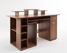 Brand New Alphason San Diego Home Office Computer Desk / Workstation  - Walnut