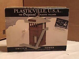 Vintage Plasticville O Switch Tower SW-2 w/Original Box Model Train Railroad RR